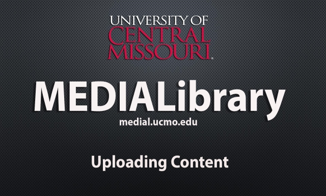 Upload file to UCM's Medial Server